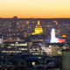 Sunset Over Paris Top View - VideoHive Item for Sale