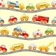 Toys Transport Seamless Pattern - GraphicRiver Item for Sale