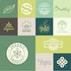 Natural Badges - GraphicRiver Item for Sale