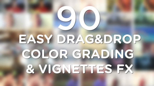 Easy Vignette & Color Correction Pack