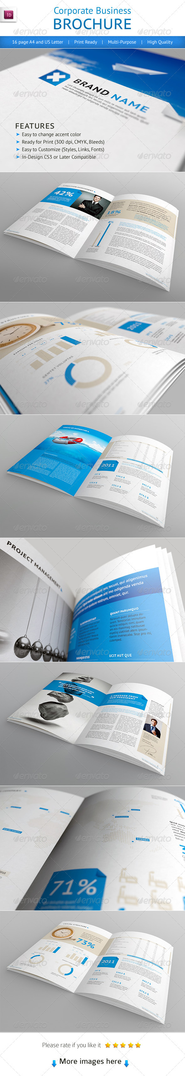 Booklet Brochure Templates from GraphicRiver