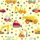 Toys Heavy Construction Machines Seamless Pattern - GraphicRiver Item for Sale