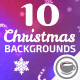10 Christmas Backgrounds - VideoHive Item for Sale