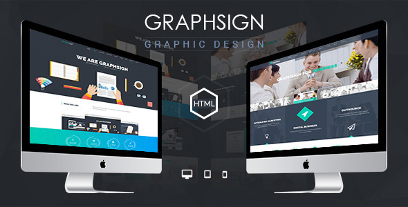 Graphsign – Onepage Corporate Business HTML