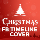 Marry Christmas FB Timeline Cover  - GraphicRiver Item for Sale