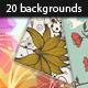 Floral Background Illustrations - GraphicRiver Item for Sale