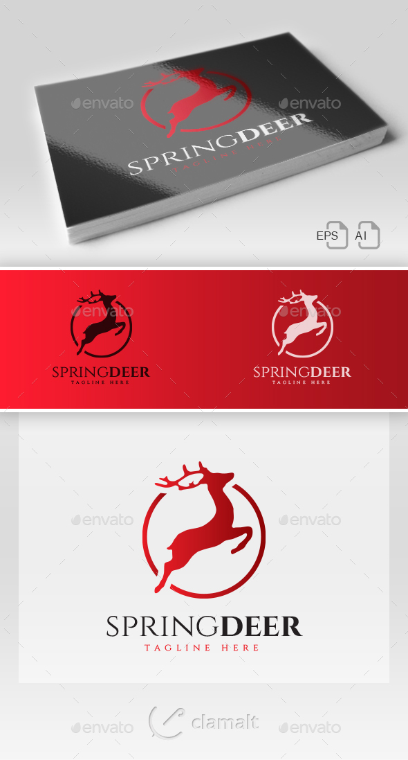 Spring Deer Logo