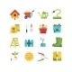 Garden Icon Set - GraphicRiver Item for Sale