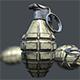 Mk 2 Grenade - 3DOcean Item for Sale