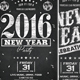 Chalk New Year Party Flyer - GraphicRiver Item for Sale