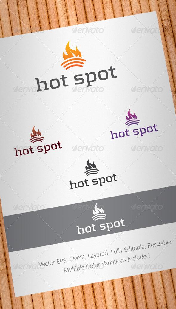 Hot Spot Logo Template V2
