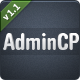 AdminCP - ThemeForest Item for Sale