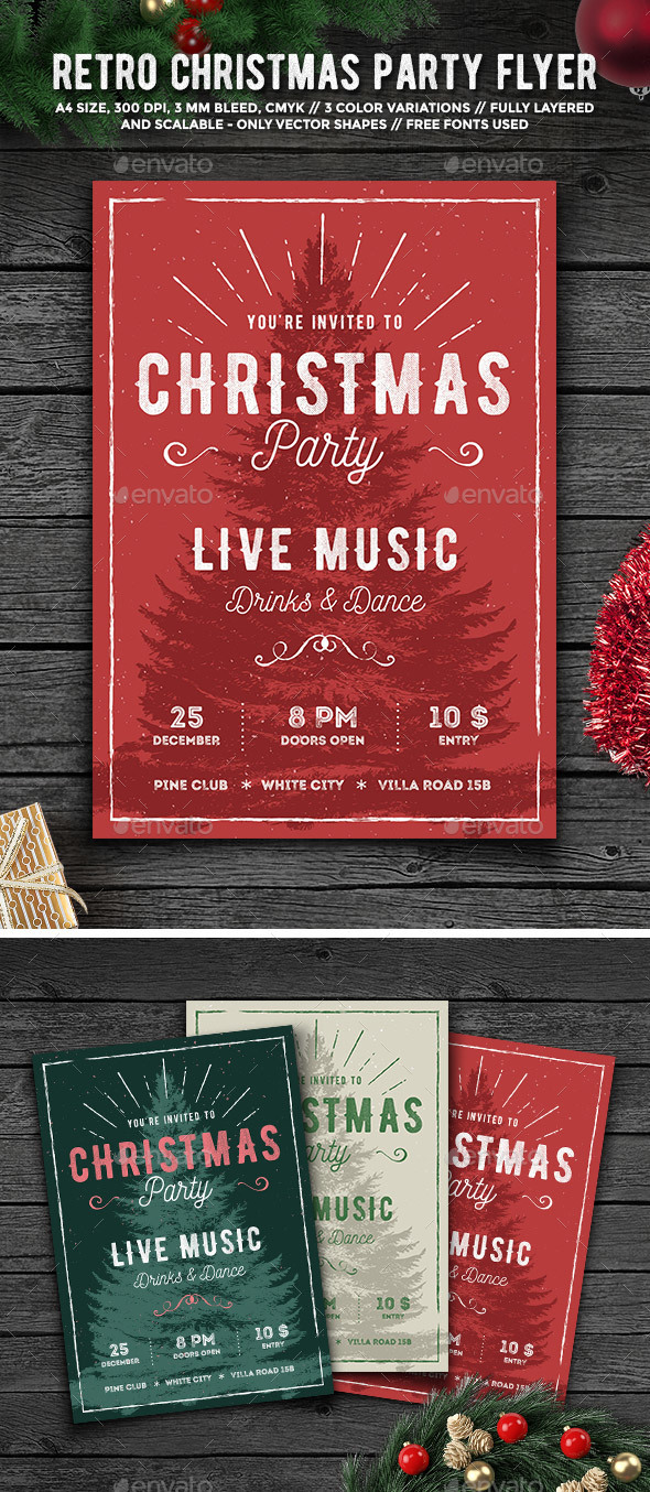 Holiday Events Flyer Templates from GraphicRiver (Page 9)