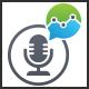 Market Talk Logo - GraphicRiver Item for Sale
