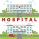 Medical Concept with Hospital and Ambulance Car - GraphicRiver Item for Sale