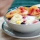 Fruit Salad With Curd - VideoHive Item for Sale