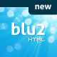 Blu2 HTML Theme - ThemeForest Item for Sale