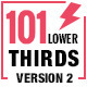 Mega Lower Thirds 101 - VideoHive Item for Sale