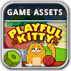 Playful Kitty Game Assets - GraphicRiver Item for Sale