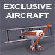 Plane 3D Model - 3DOcean Item for Sale