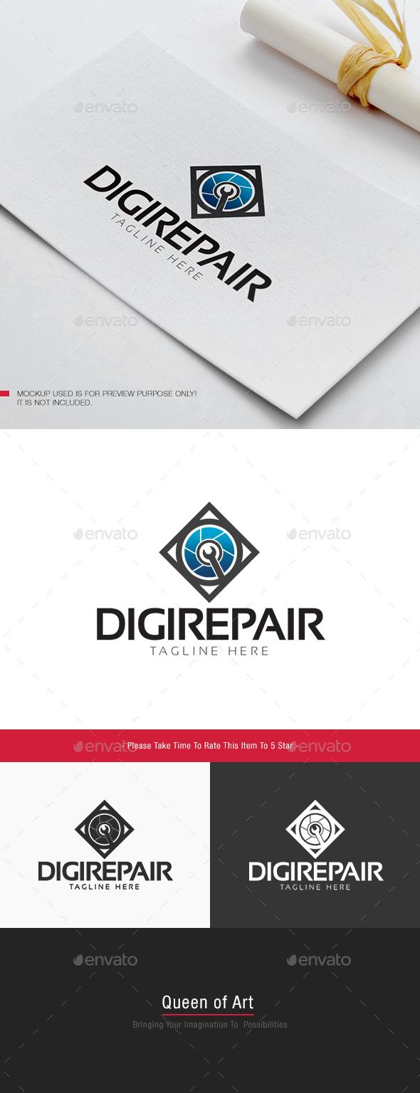Digi Repair Logo