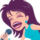 Female Pop Singer - GraphicRiver Item for Sale