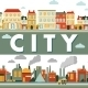 Industrial City Panorama Background - GraphicRiver Item for Sale