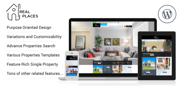 RealPlaces - Responsive WordPress Real Estate Theme