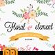 Floral Set - GraphicRiver Item for Sale