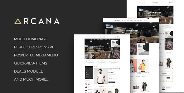 Leo Arcana Minimalist Fashion Prestashop 1.6 and 1.7 Theme