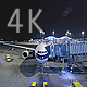 Night Airplane - VideoHive Item for Sale
