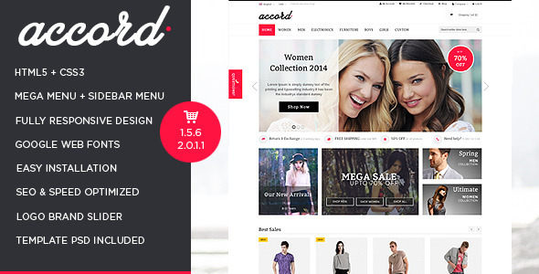 Accord - Pet Store Responsive OpenCart Theme