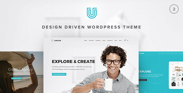 Unicon | Design-Driven Multipurpose Theme
