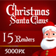 Christmas Character Renders - GraphicRiver Item for Sale