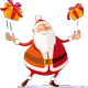 Santa Claus Juggler - GraphicRiver Item for Sale