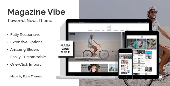 Magazine Vibe - Newspaper Theme