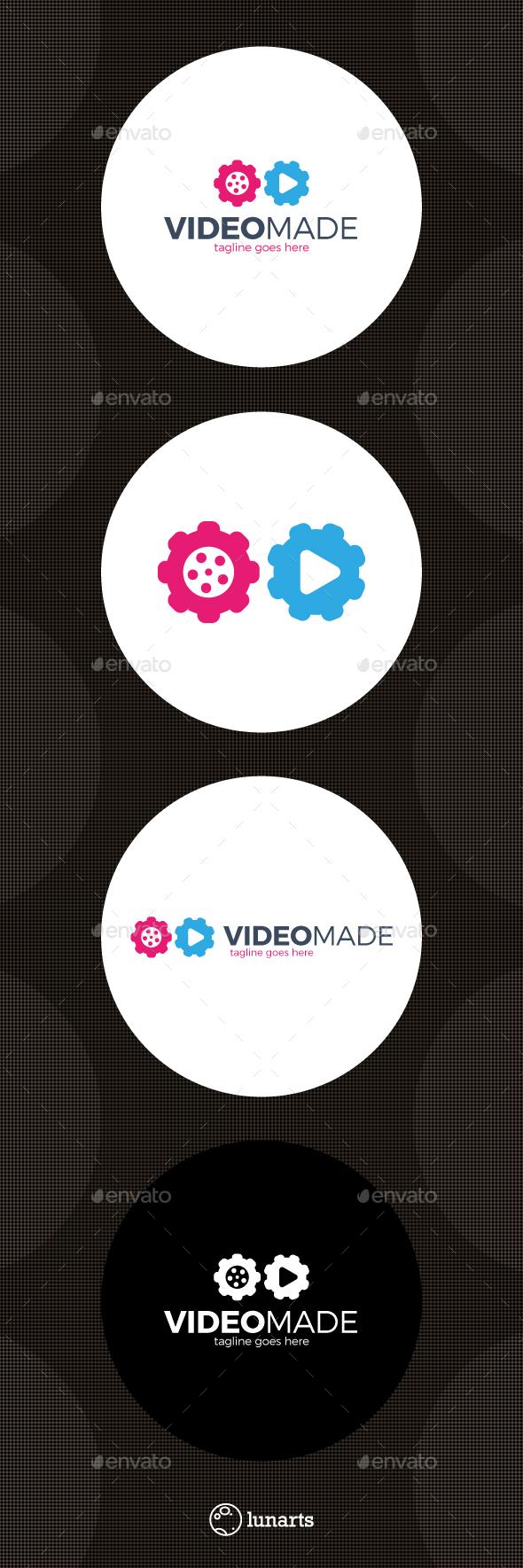 Video Gear Logo - Made Movie