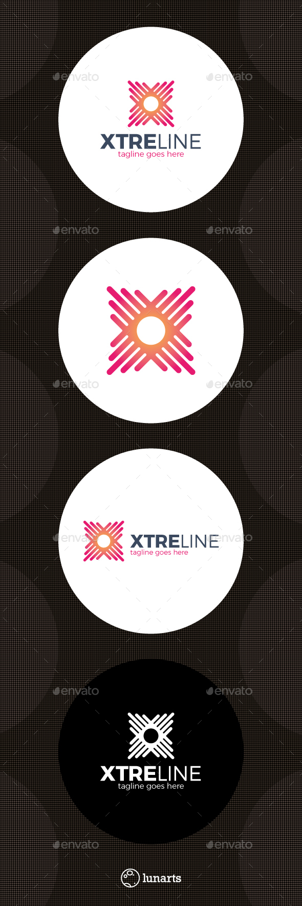 Xtreme Line Logo - Letter X