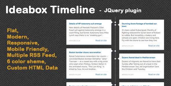 Ideabox - Timeline News Ticker