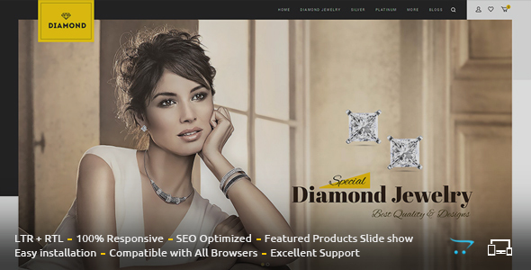 Diamond OpenCart Themes from ThemeForest