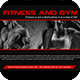 Fitness and Gym Presentation Template - GraphicRiver Item for Sale