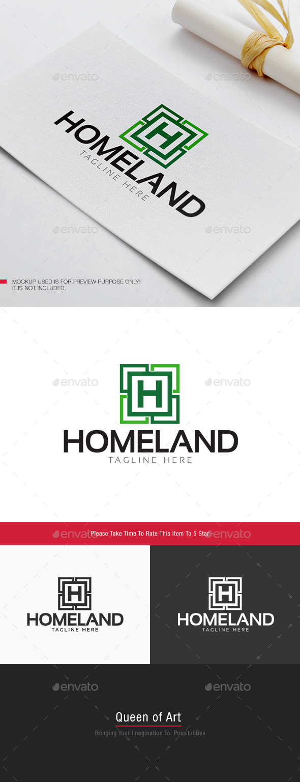 Home Land Logo