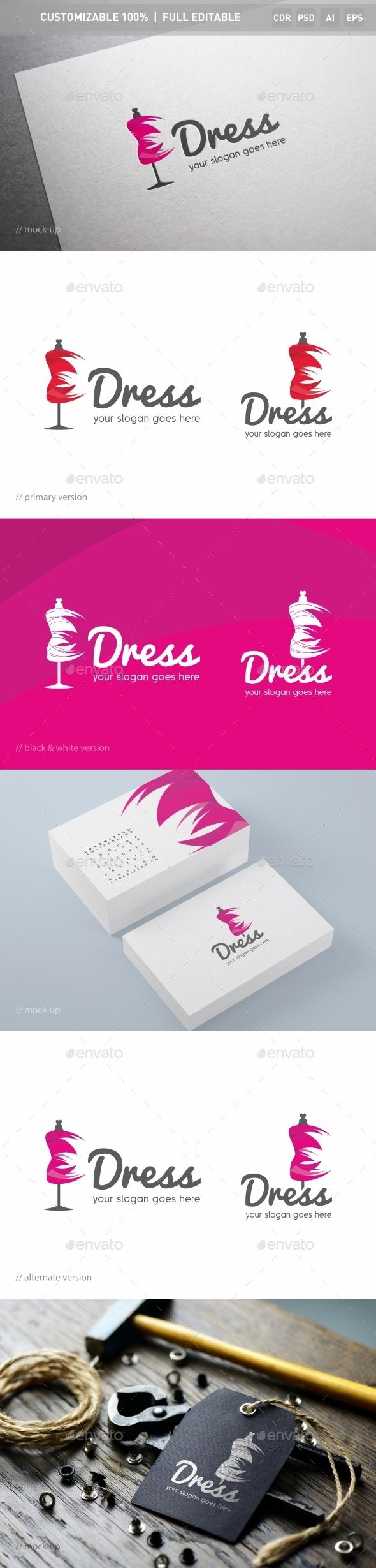 Dress Logo Template