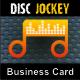 DJ Business Card - GraphicRiver Item for Sale
