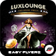 Lux Lounge Flyer Template - GraphicRiver Item for Sale