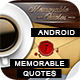 Memorable Quotes App With CMS - Android [ 2020 Edition ] - CodeCanyon Item for Sale