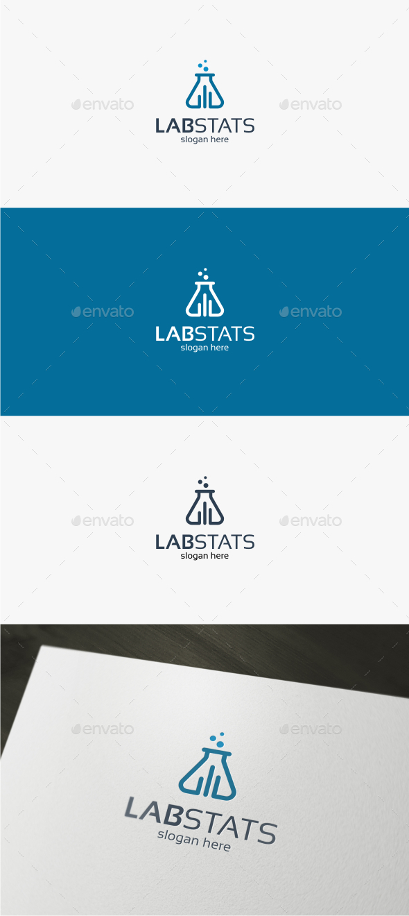 Lab Stats - Logo Template