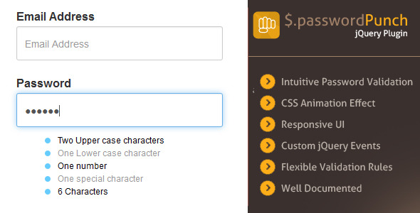 Password Plugins, Code & Scripts from CodeCanyon
