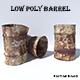 Rusty Steel Barrel - 3DOcean Item for Sale
