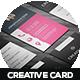 Creative Business Card Design V-1 - GraphicRiver Item for Sale